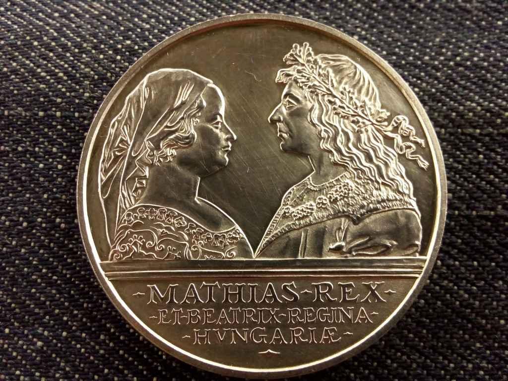 Mátyás ezüst 500 Forint 1990