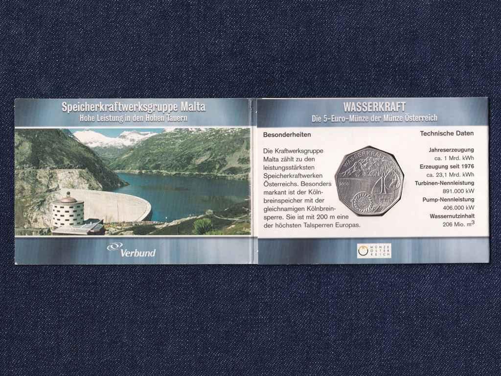 Osztrák Wasserkraft 5 Euro 2003