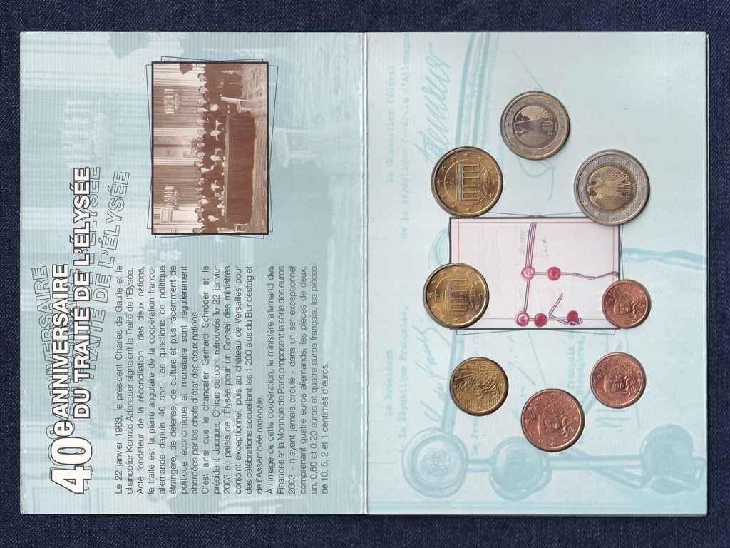 Német-francia Euro forgalmi sor 2003