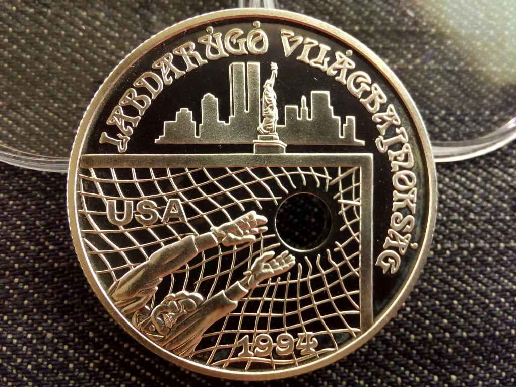 Labdarúgó VB USA ezüst 1000 Forint 1993 PP
