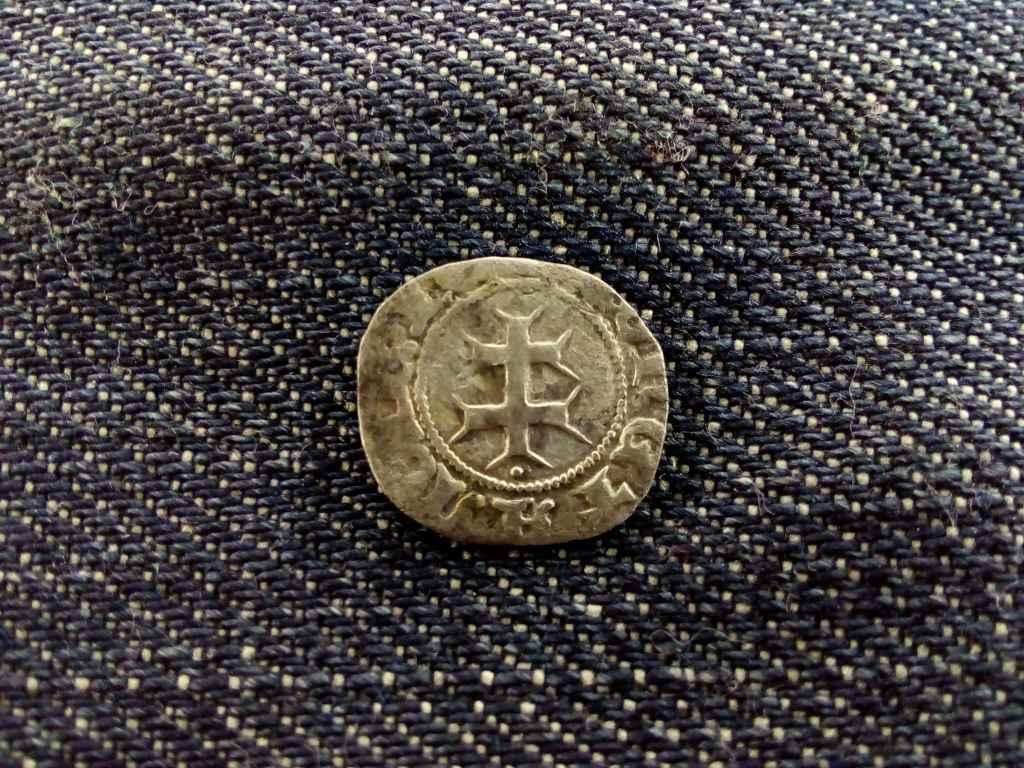 Mária királynő ezüst dénárja