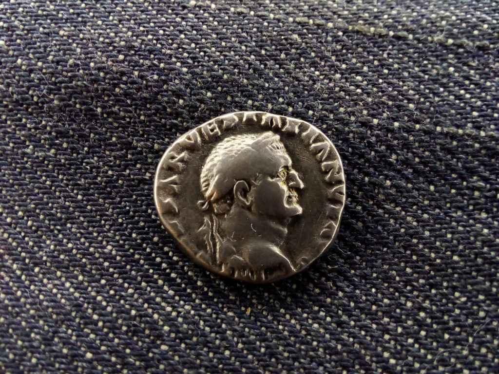Vespasianus Dénár 70 COS ITER TR POT