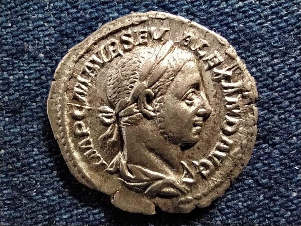 Severus Alexander Dénár 226 PAX AVG