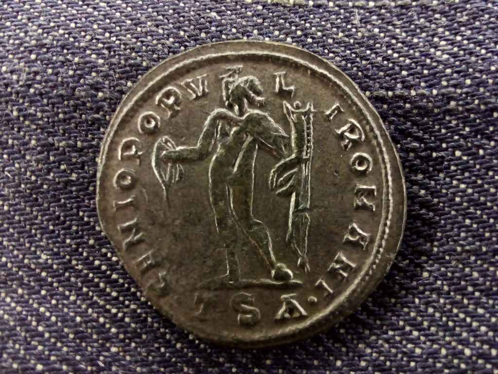 Diocletianus ezüstözött Follis 298-299 GENIO POPVLI ROMANI
