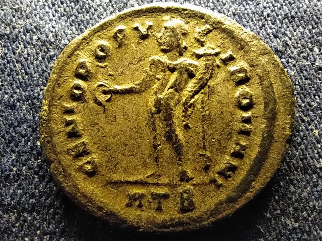 Maximianus ezüstözött Follis Hérakleia Lünkésztisz 305 GENIO POPVLI ROMANI