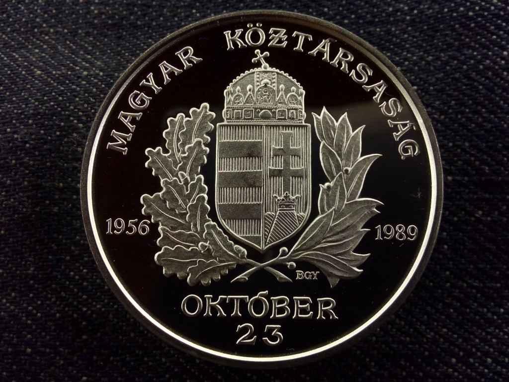 1956 október 23, 1 uncia .925 ezüst, Állami Pénzverő