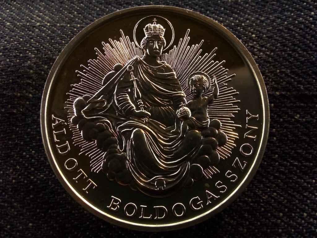 Magyar szentek - Szent István .925 ezüst (1 uncia szín), Állami Pénzverő
