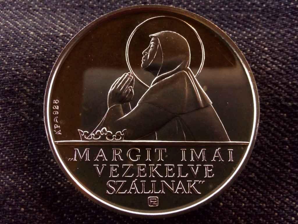 Magyar szentek - Szent Margit .925 ezüst (1 uncia szín), Állami Pénzverő