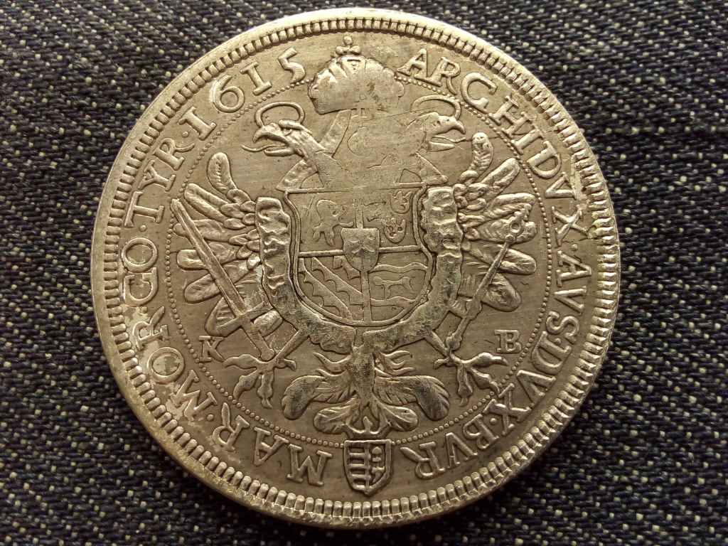 Mátyás tallér 1615 másolat