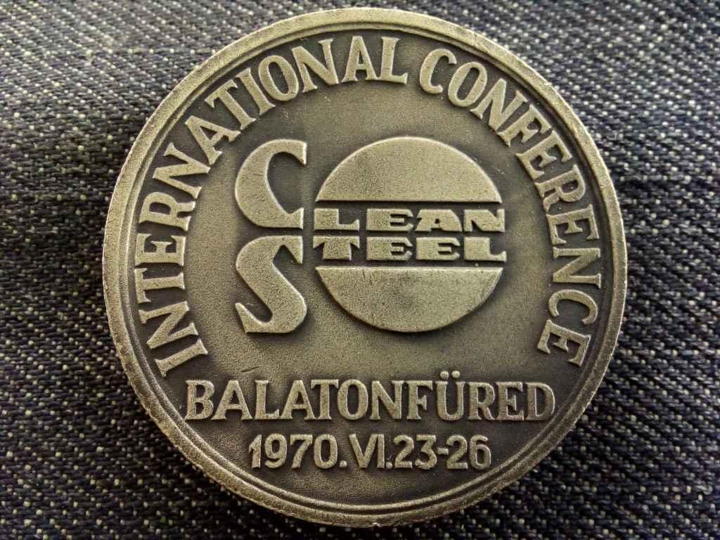 Clean Steel Conference Balatonfüred, 1970