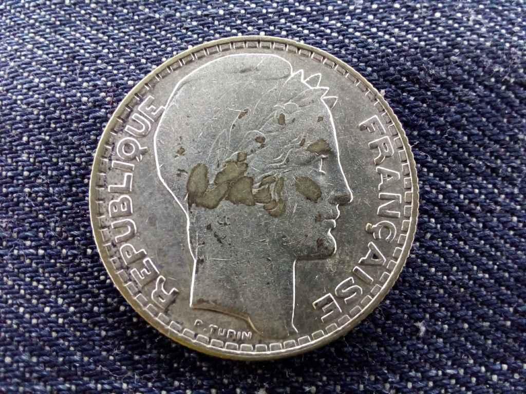 Franciaország, ezüst (.680) 10 Frank 1930