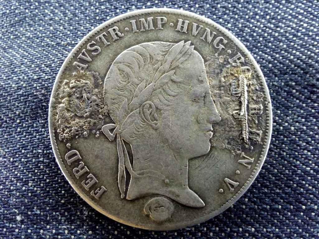Ausztria V. Ferdinánd (1835-1848) .833 ezüst 1 Tallér 1841 A