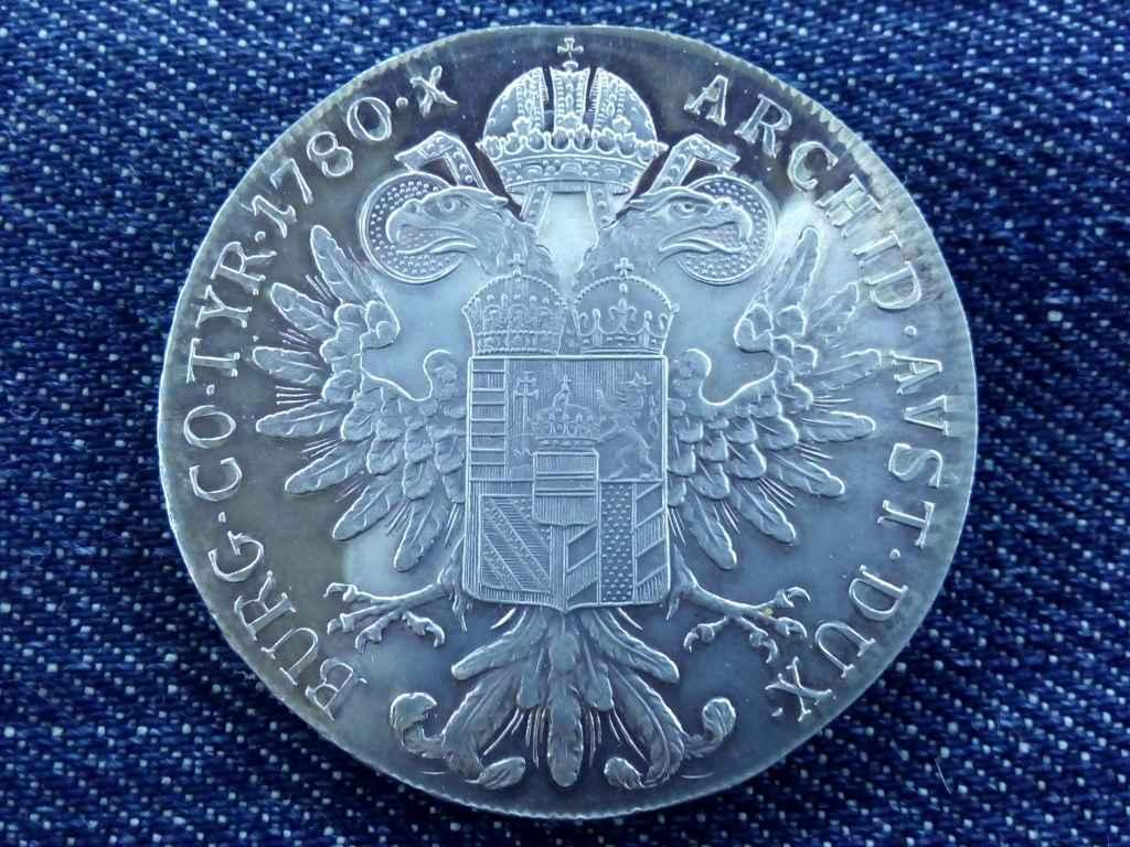 Extra szép Mária Terézia tükörfényes PP ezüst 1 Tallér 1780